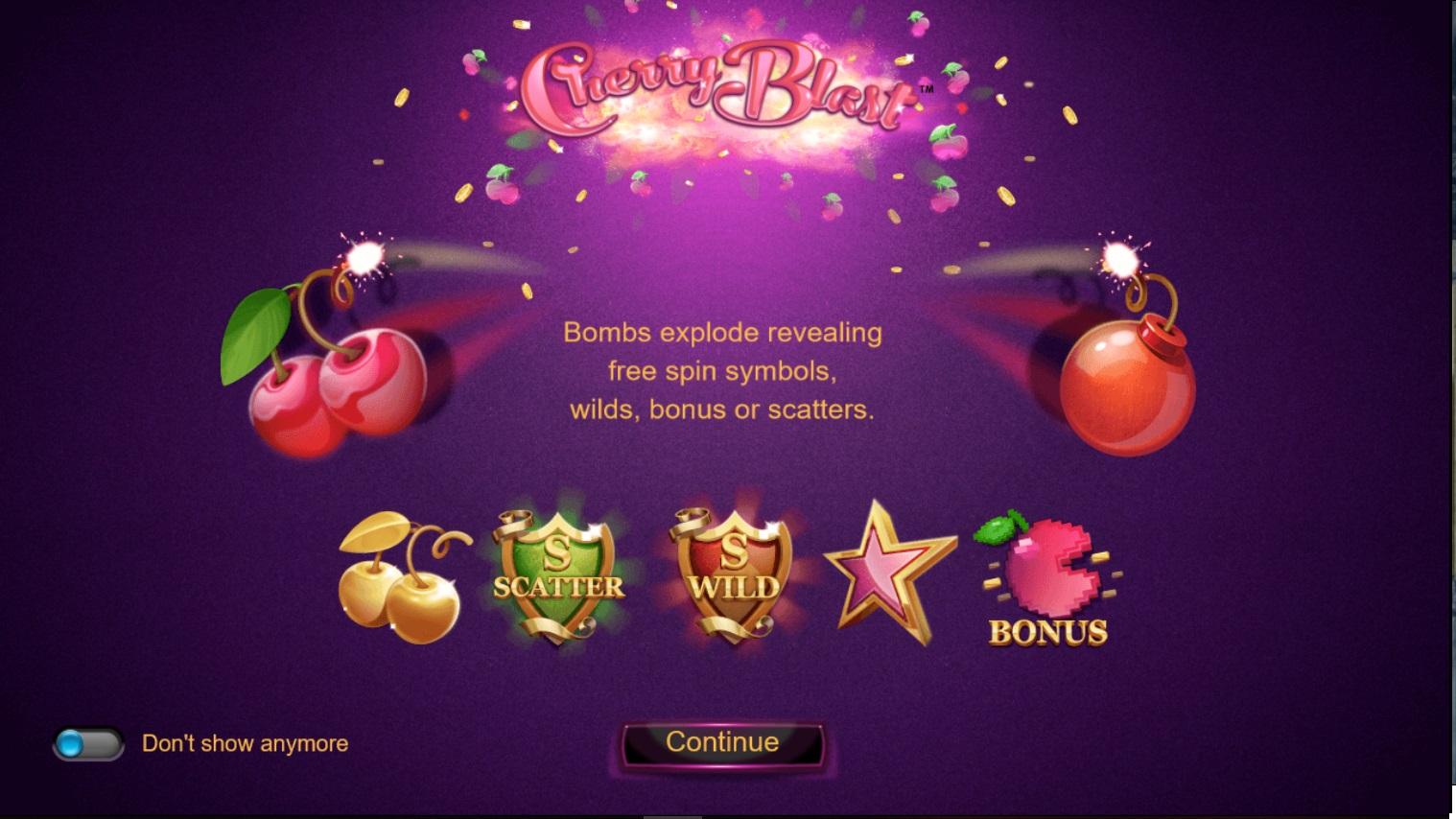 Игровой автомат Cherry Blast