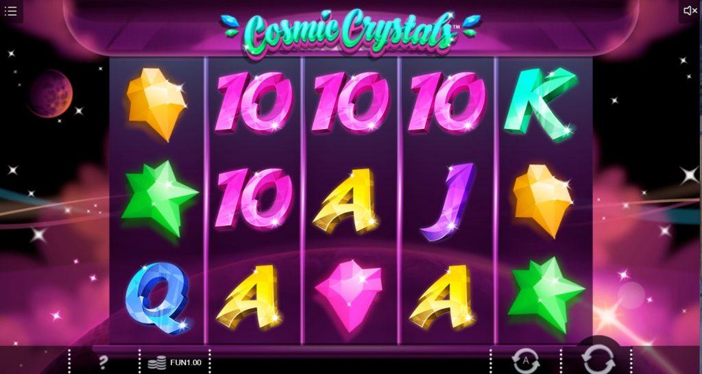 Игровой автомат Cosmic Crystals