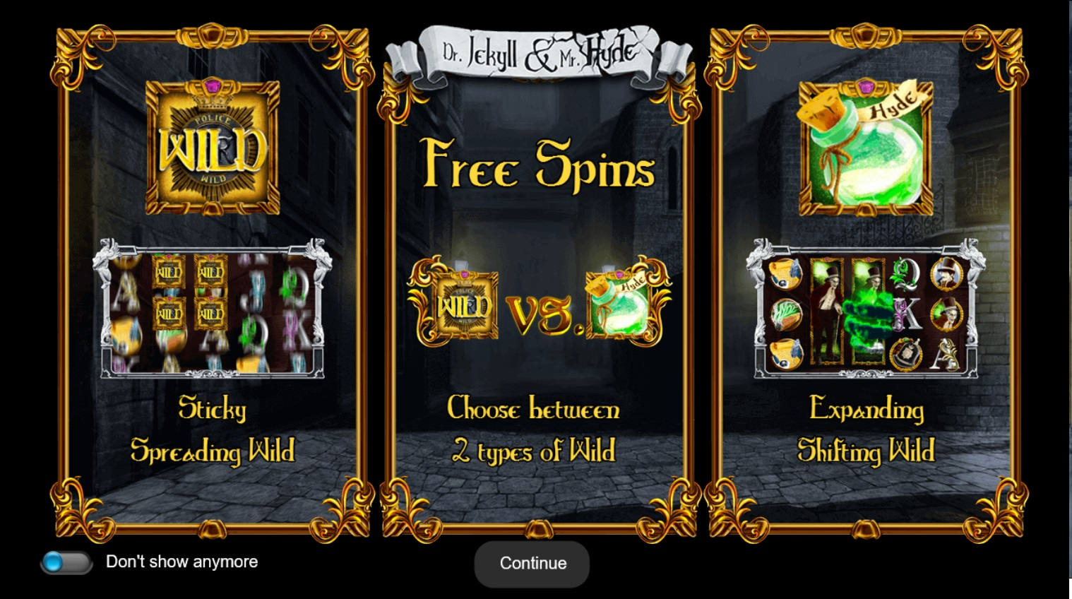 Игровой автомат Dr Jekyll And Mr Hyde