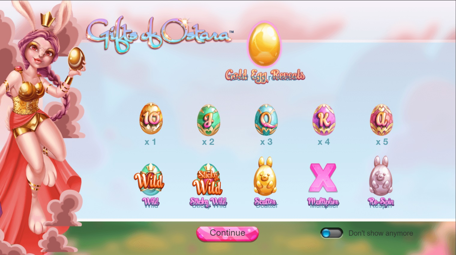 Игровой автомат Gift of Ostara
