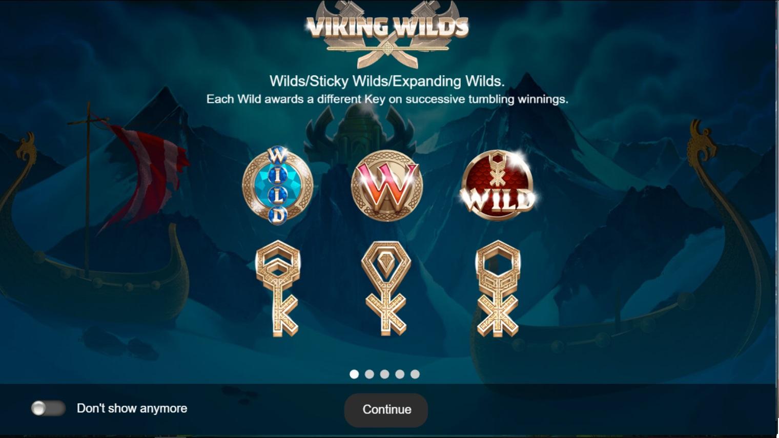 Игровой автомат Viking Wilds